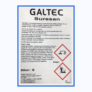Galtec-Suresan-Label